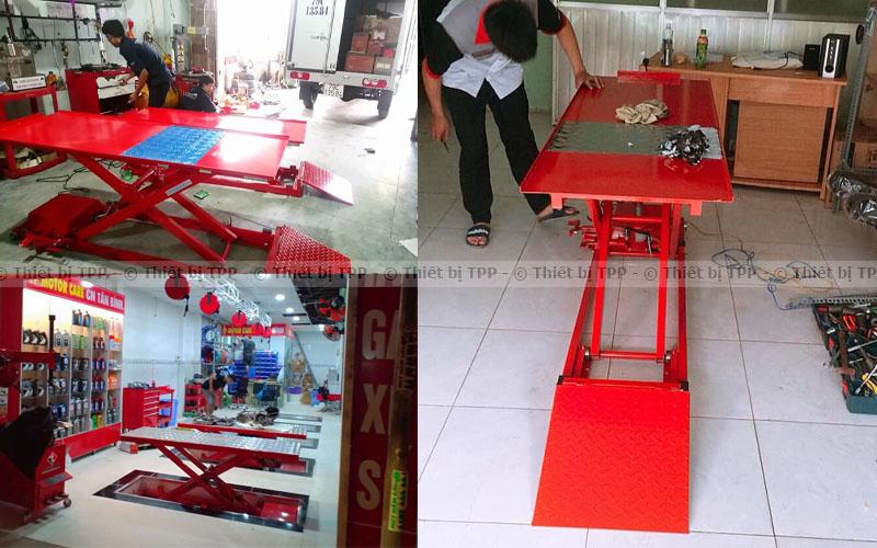 thiết bị nâng xe máy, bàn nâng sửa xe chất lượng, bàn nâng sửa xe giá tốt, bàn nâng chính hãng, bàn nâng xe giá rẻ