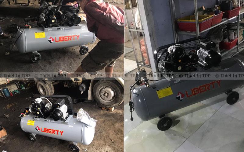 máy nén khí không chạy, máy nén khí bị yếu, máy nén khí bị tắt nguồn