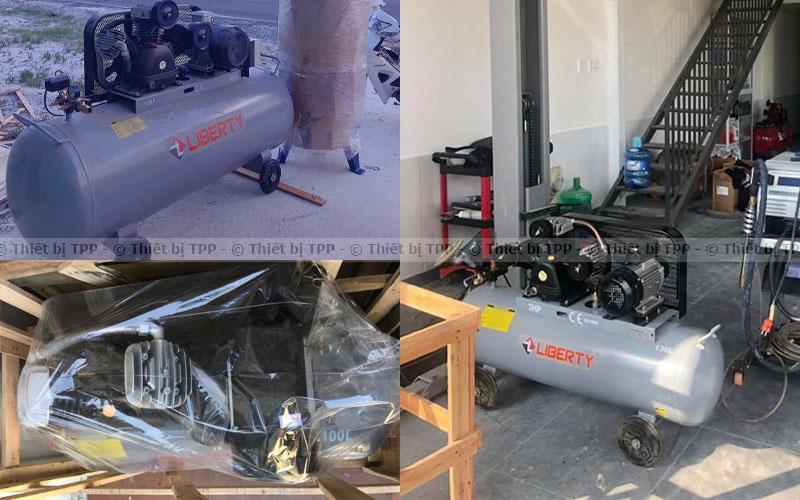 máy hơi nén khí, máy hơi bơm xe ga, máy hơi bán xe motor, máy hơi bơm xe đạp