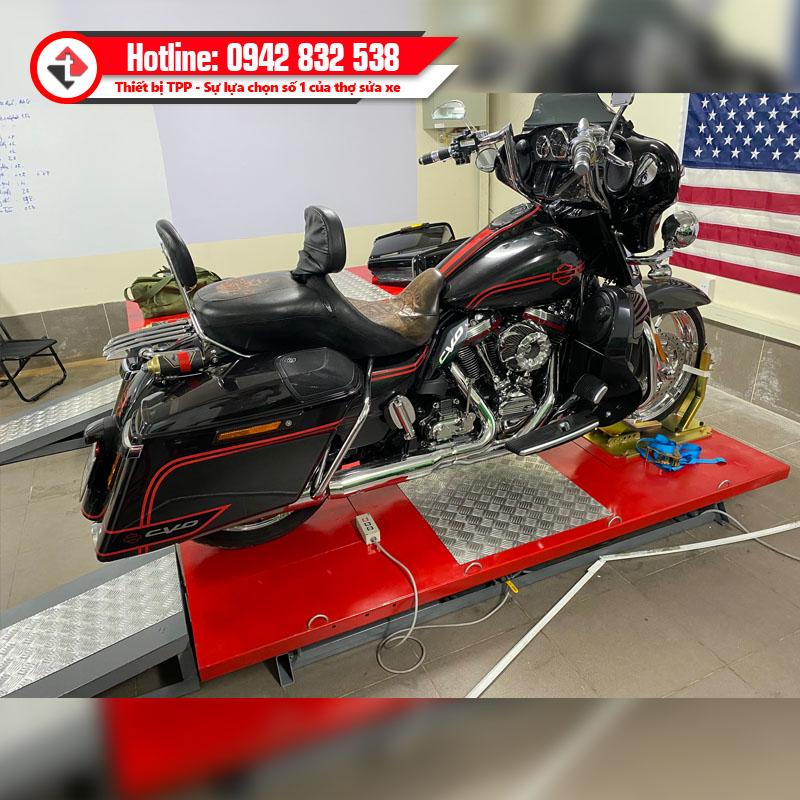 bàn nâng xe mô tô, ban nang xe moto, bàn nâng xe máy phân khối lớn