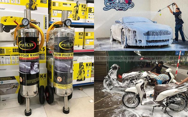 bình xịt bọt tuyết, bình xịt tuyết rửa xe, bình xịt tuyết rửa ô tô, bình xịt bọt tuyết rửa xe ô tô