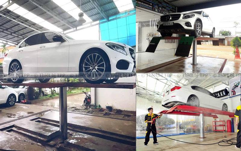 cầu nâng ô tô rửa xe, cầu nâng ô tô 1 trụ, cầu nâng ô tô 1 trụ giá rẻ, ben nâng trụ rửa xe, giàn nâng trụ rửa xe, ben nâng 1 trụ