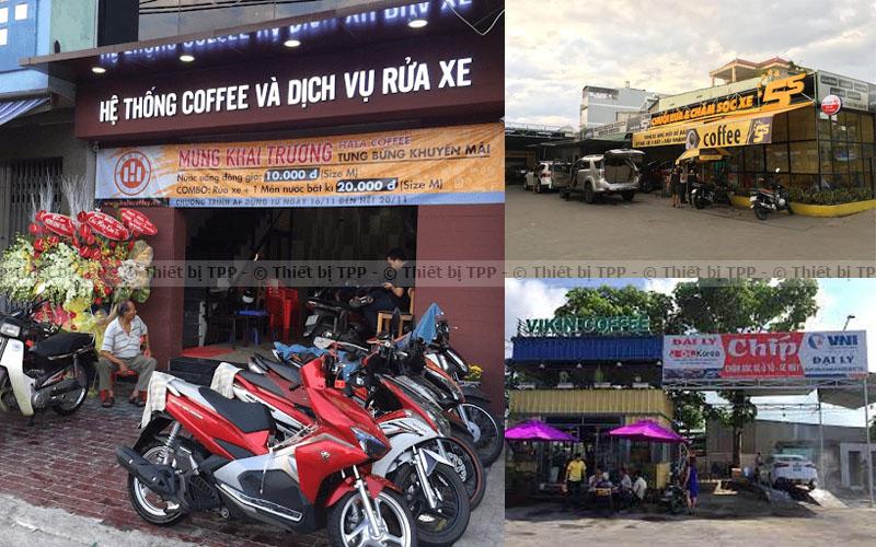 cửa hàng rửa xe và cafe, cửa hàng rửa xe ô tô, cửa hàng rửa xe máy, cửa hàng rửa chăm sóc xe ô tô
