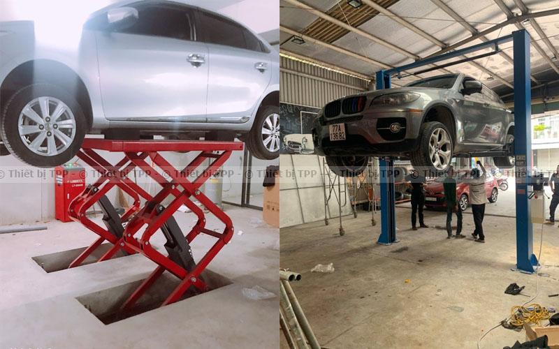 cầu nâng ô tô, cầu nâng xe hơi, cầu nâng sửa xe hơi, giá cầu nâng ô tô, giá cầu nâng xe hơi