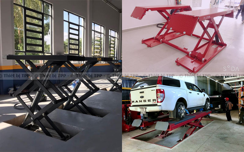 cầu nâng cắt kéo, cầu nâng kiểu xếp, cầu nâng chữ X, giá cầu nâng kiểu xếp, giá cầu nâng cắt kéo