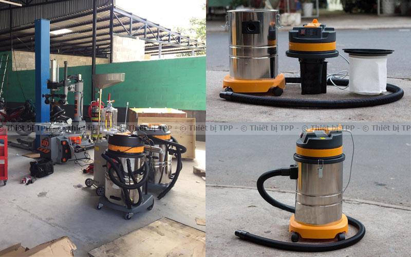 máy dọn bụi, máy hút bụi công suất lơn, máy hút sạch bụi cho gara