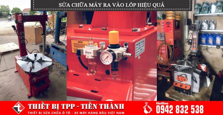 sửa chữa máy ra vào lốp hiệu quả