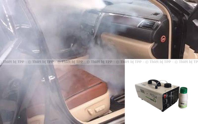 máy khử mùi diệt khuẩn xe hơi
