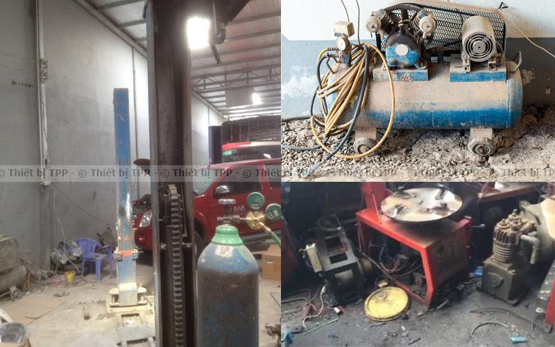 Thiết bị sửa chữa ô tô đã qua sử dụng