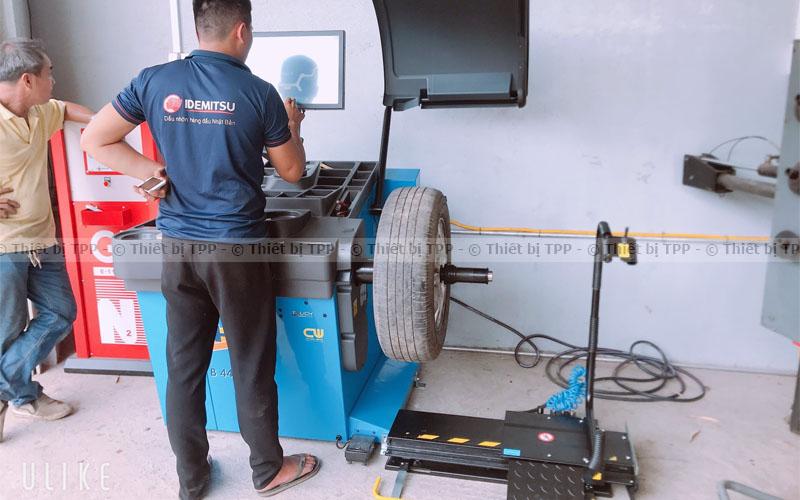 Cân bằng động bánh xe là gì
