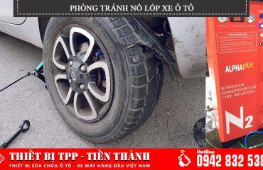 phòng tránh nổ lốp xe ô tô